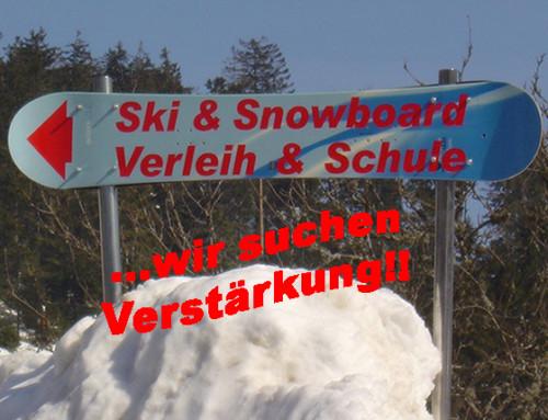 Mitarbeiter für Ski-& Snowboardverleih gesucht!