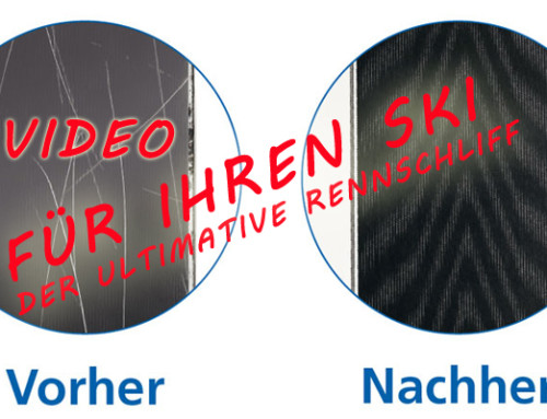 Ski Schleifen & Reparatur der neusten Generation