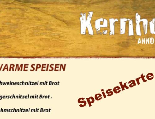 Essen in Seebach im Schwarzwald